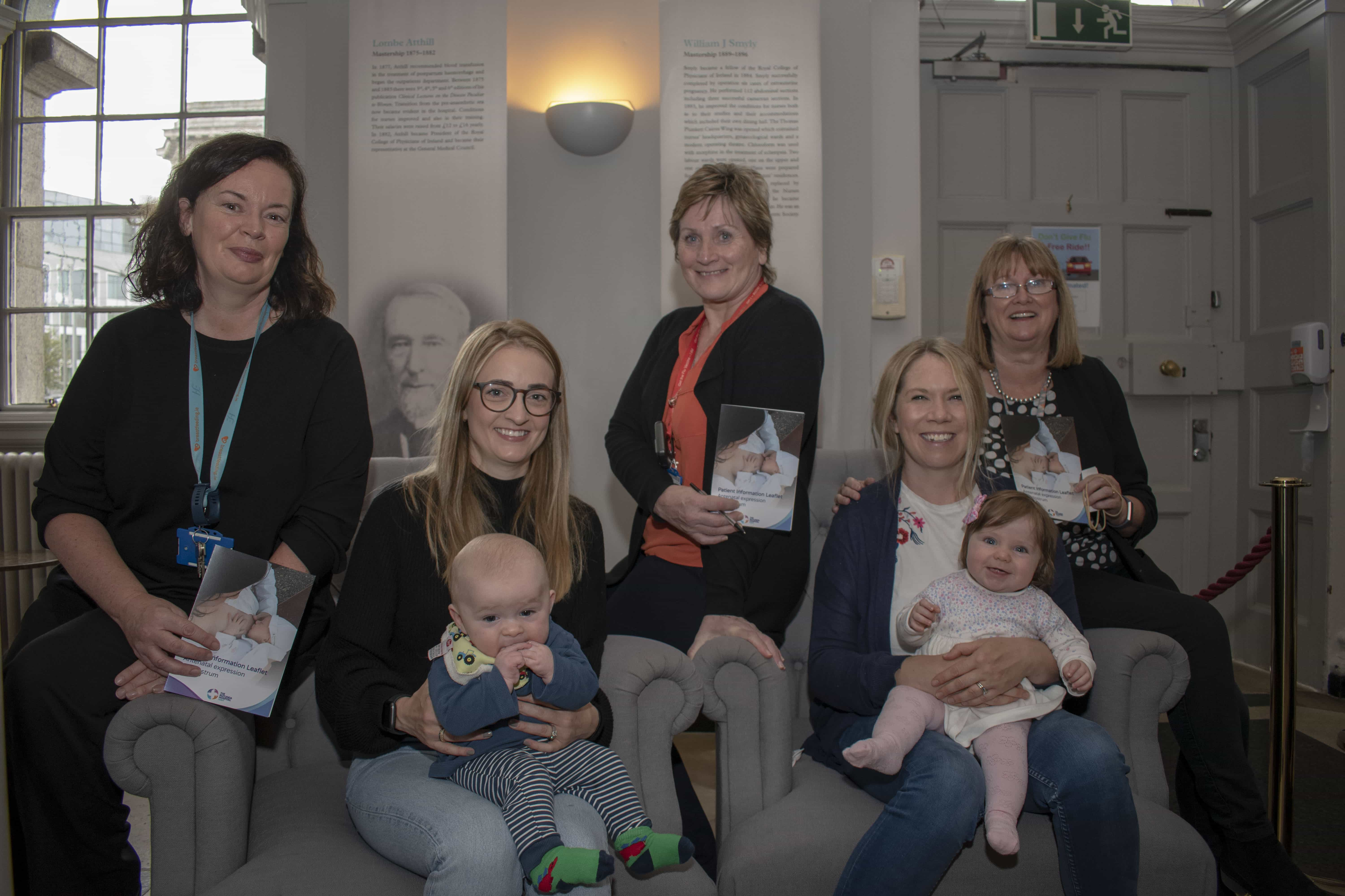 Launch Of Antenatal Expression Of Colostrum Leaflet